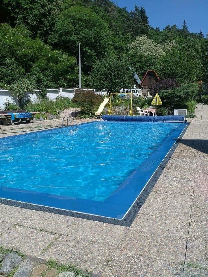 Bazén s přírodou